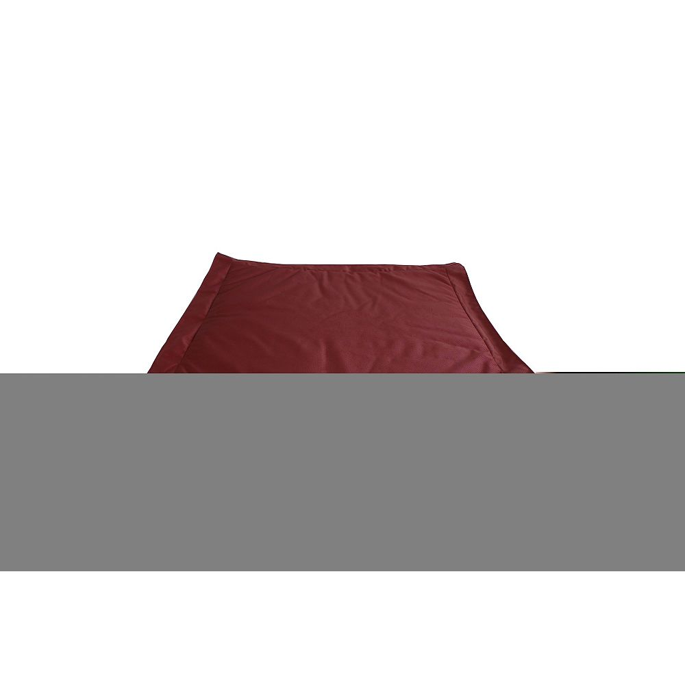 Ace Casual Furniture Outdoor Bean Bag Ottoman in Marsala