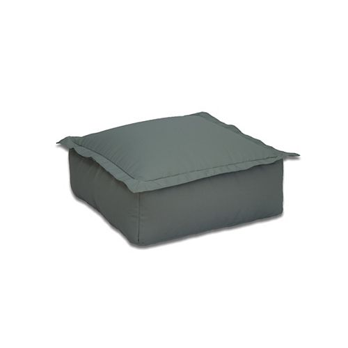Outdoor Bean Bag Ottoman in Marsh
