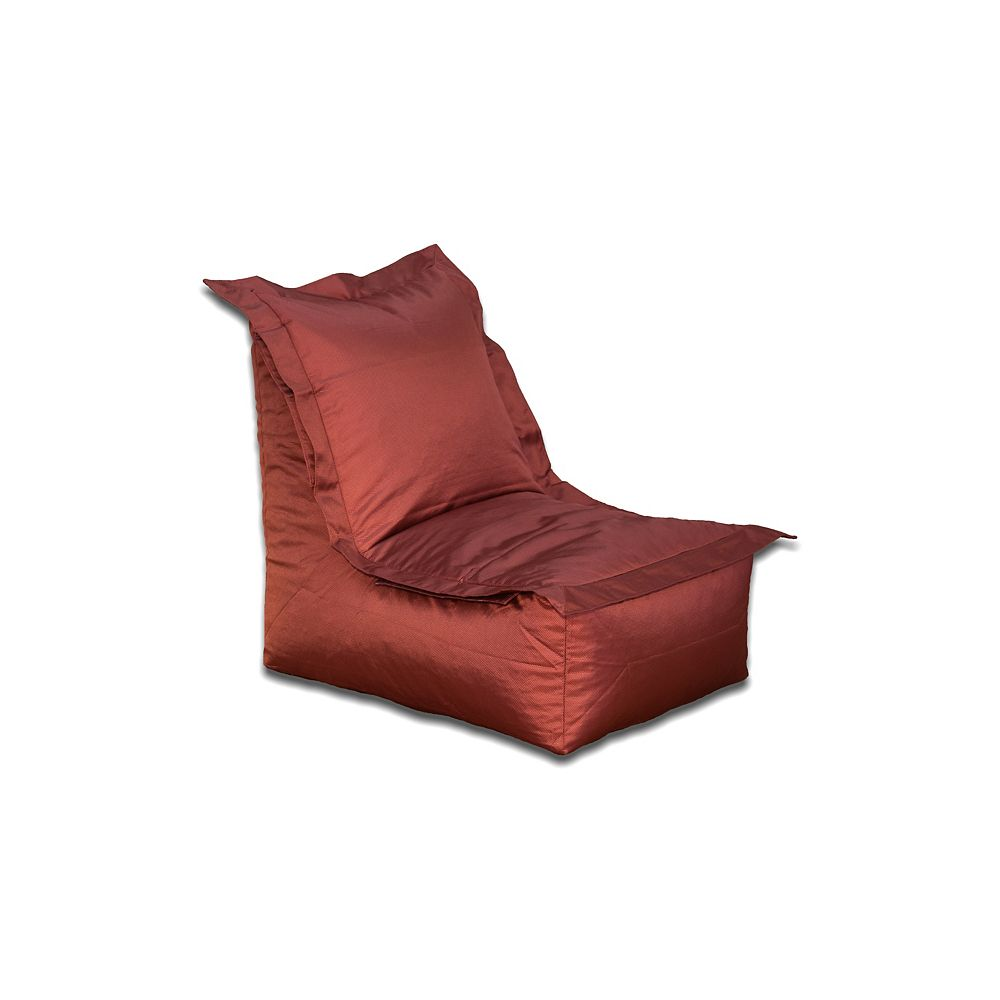 Ace Casual Furniture Outdoor Bean Bag Lounger in Marsala