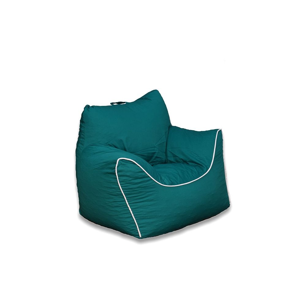 Ace Casual Furniture Emerald Green Bean Bag Chair with Removable Cover