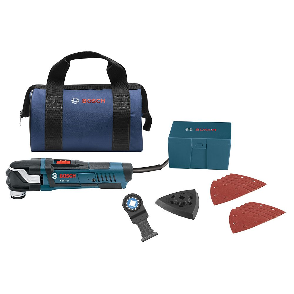 Bosch 30-Piece StarlockPlus Oscillating Multi-Tool Kit