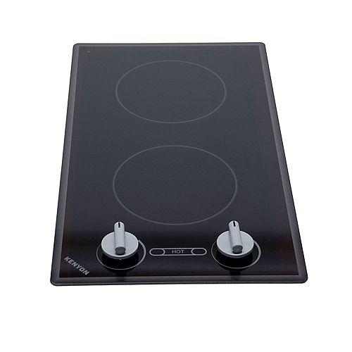 Série Cortez - Bordure arrondie - 2 Éléments noir clair 120V