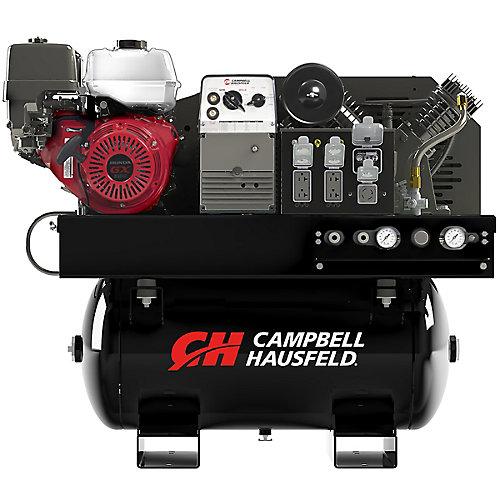 Lunité de combinaison, le compresseur de 113 L, le générateur de 5000W, le soudeur de 180