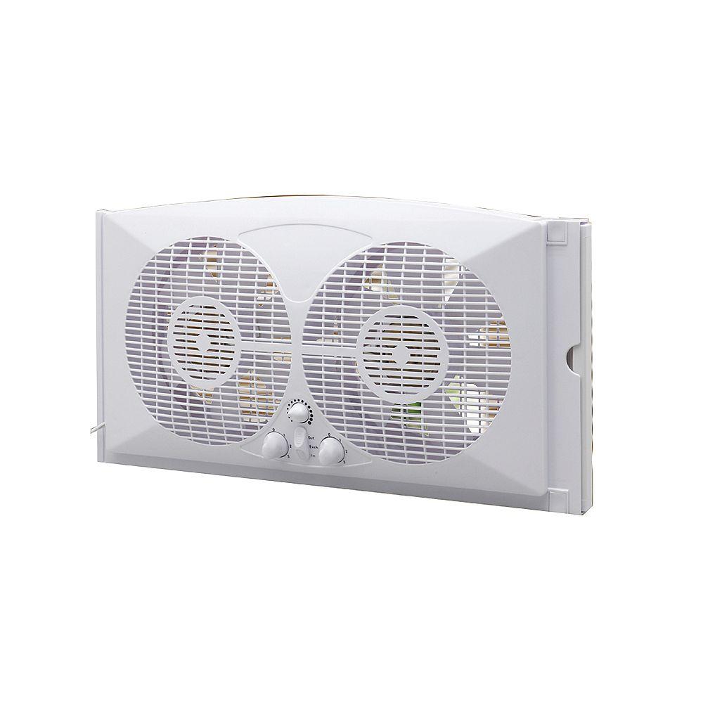 Ecohouzng 9-inch Twin Window Fan