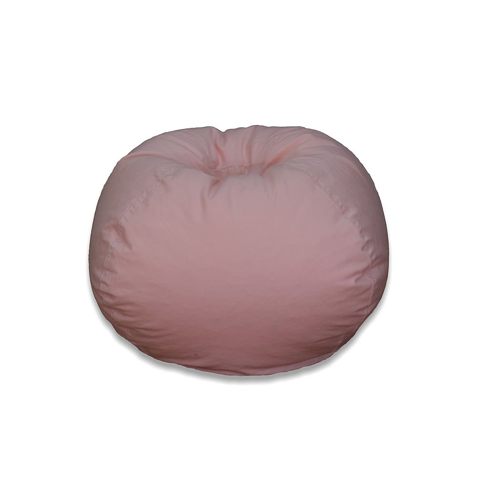 Ace Casual Furniture Sac poire medium avec coutures exposées Rose cendré