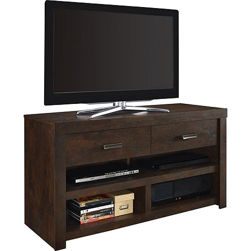 Westbrook 50 lb. Capacity TV Stand for 42-inch TVs in Dark Walnut