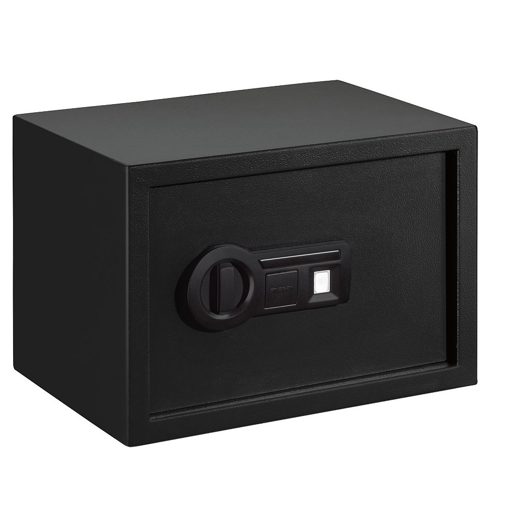 Stack On Personal Safe, Biometric Lock, 1 Shelf