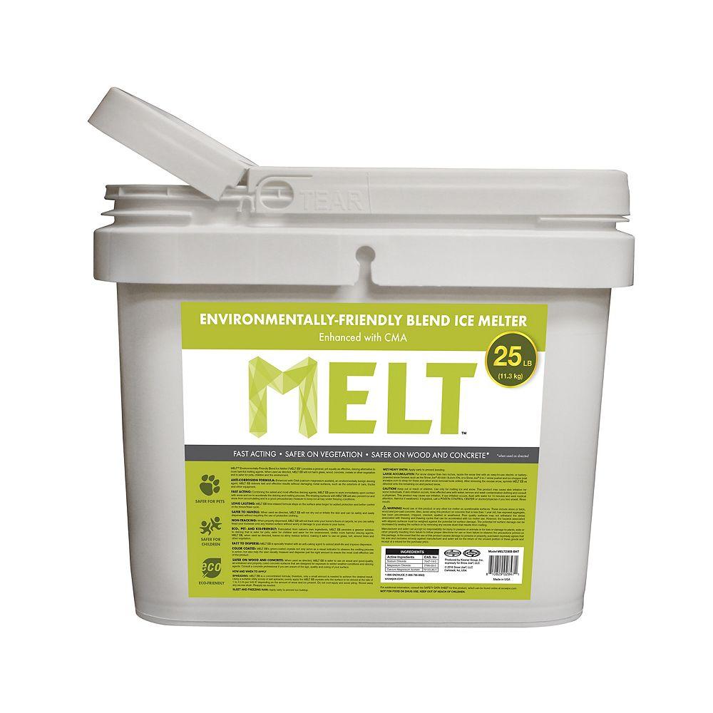 Snow Joe MELT 25 lb Seau de produit de qualité supérieure et à formule écologique avec acétate