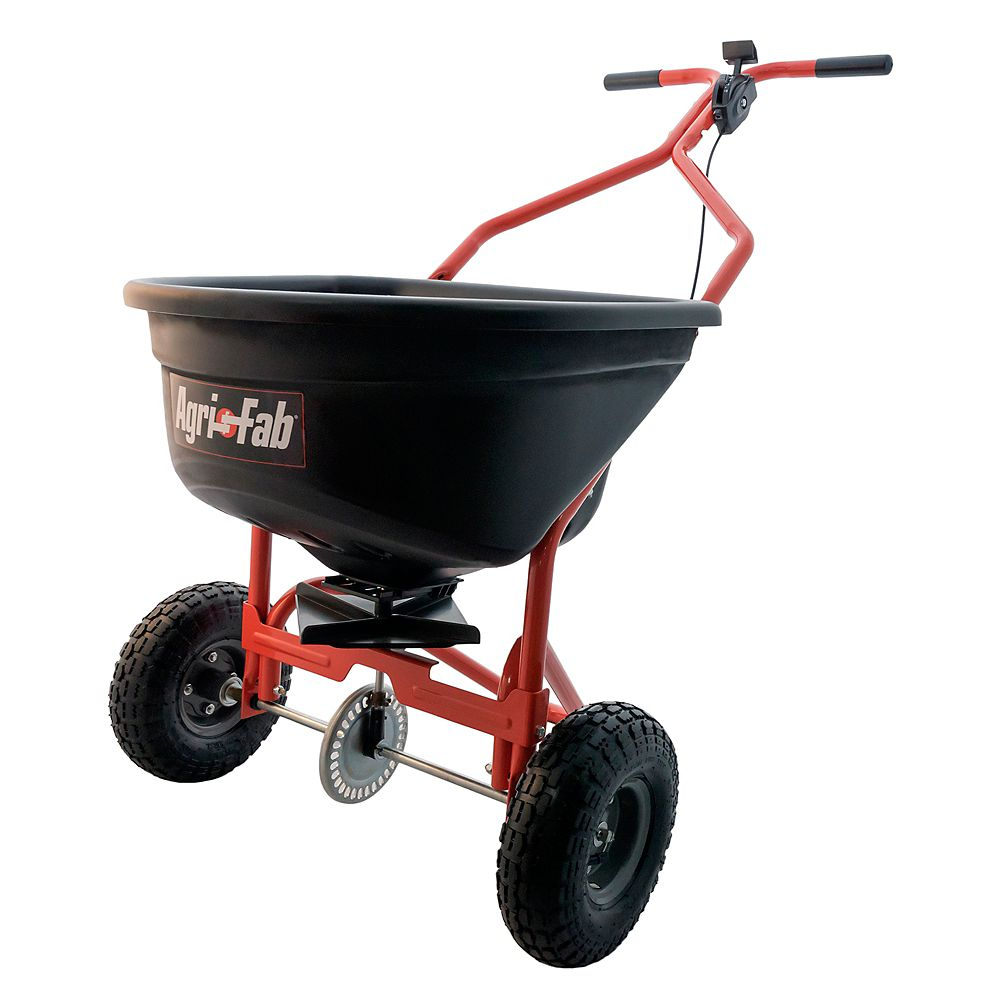 Agri-Fab 110 lb. Capacity Push Broadcast Spreader
