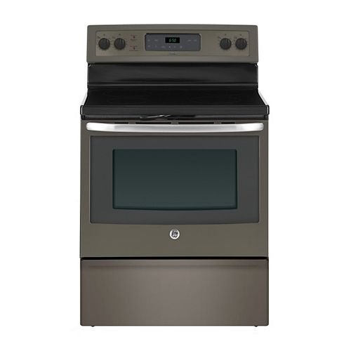 30-inch 5.0 cu. ft. Single Oven Electric Range with Self-Cleaning Oven in Slate