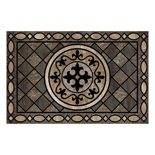 Home Decorators Collection 23-inch x 35-inch Stancliff Taupe Door Mat