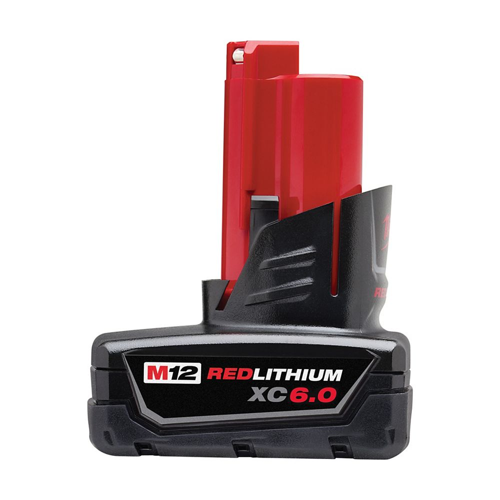 Milwaukee Tool M12 12V Lithium-Ion Extended Capacity (XC) 6.0 Ah REDLITHIUM Battery