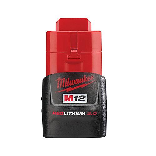 Batterie compacte M12 12V lithium-ion 3.0Ah