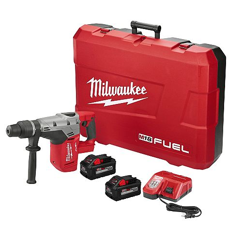 M18 FUEL 18V Lithium-Ion Brushless Cordless 1-9/16 -inch SDS-Max Rotary Hammer Kit