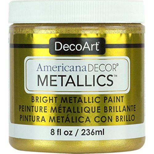 Peinture métallique DecoArt Or 24C 8oz