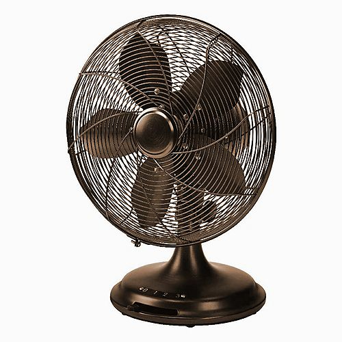 Ecohouzng 12-inch Retro Desk Fan