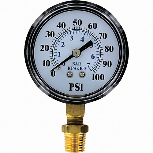 Pressure Gauge 0-100 PSI