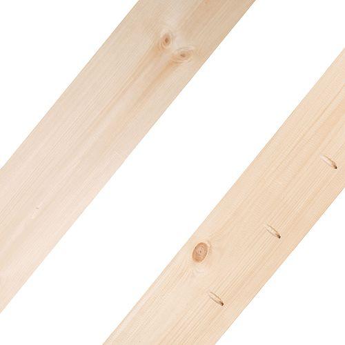 Live Edge Tranche d'assemblage Timber-Link, pièce centrale, 4 pieds