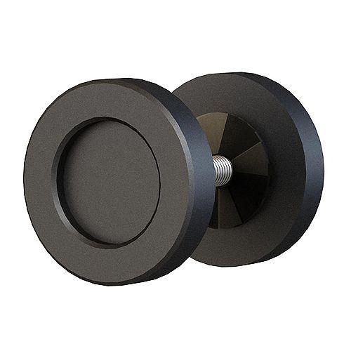 Round Flush Handle