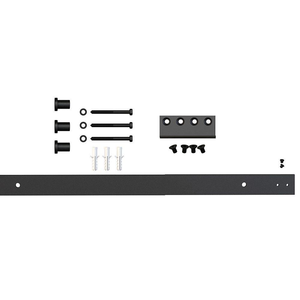 Everbilt Barn Door Hardware- Flat Rail Extension Kit