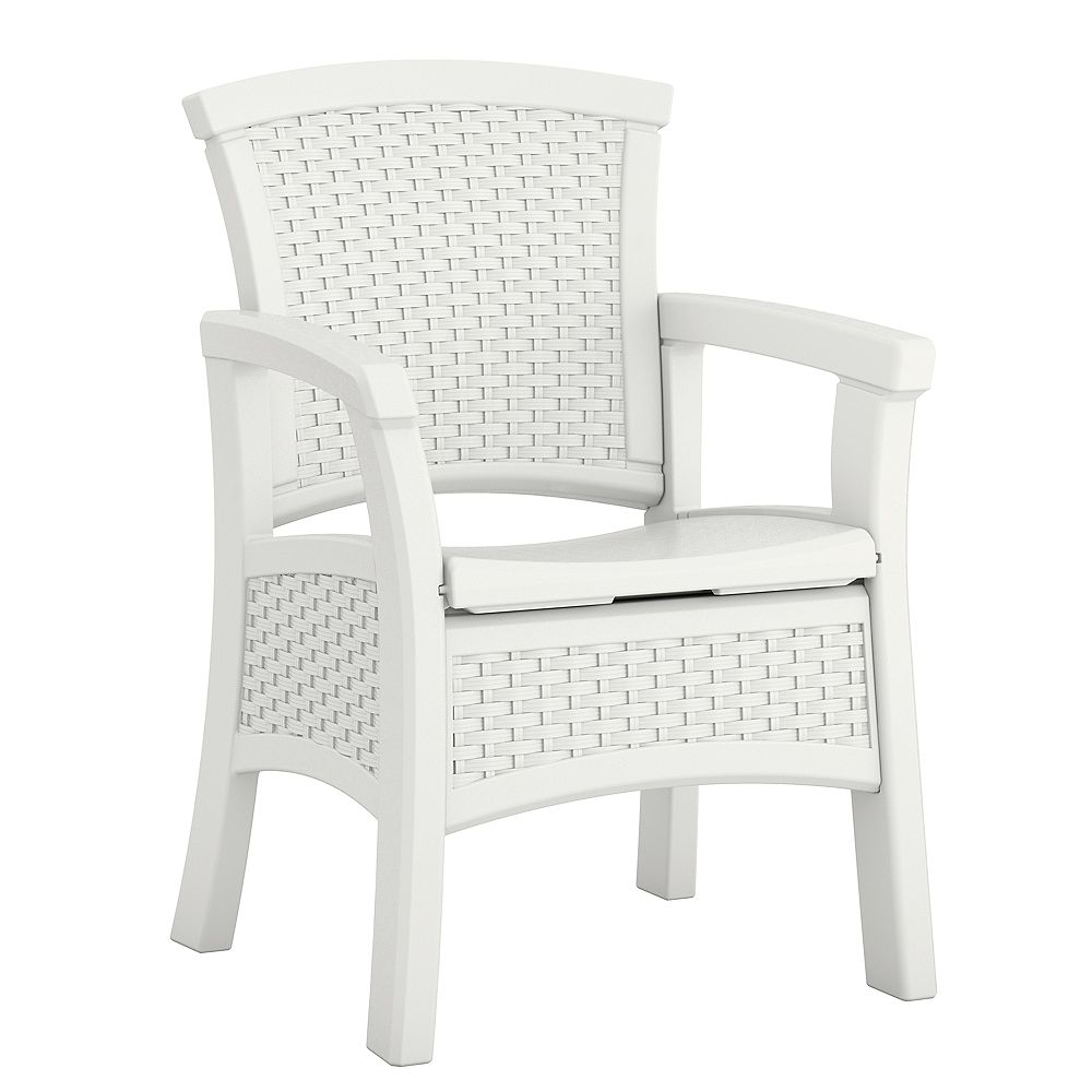 Suncast Elements Dining Chair with Storage
