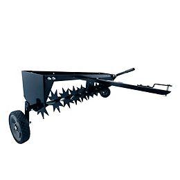 Aérateur de pelouse à pointes de 40 po