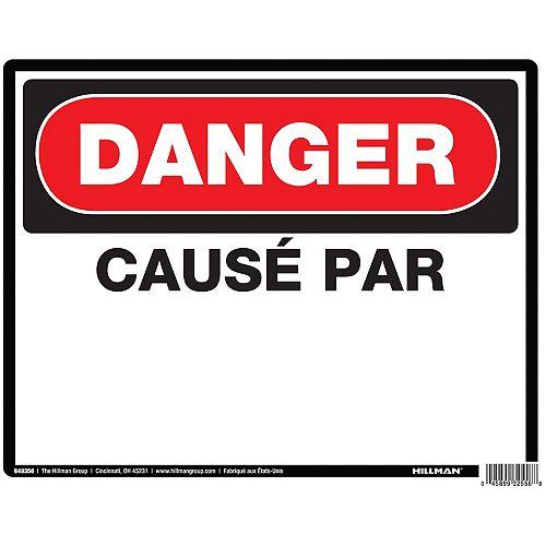 Hillman 19 X 24 Danger Cause Par (Danger Due To)
