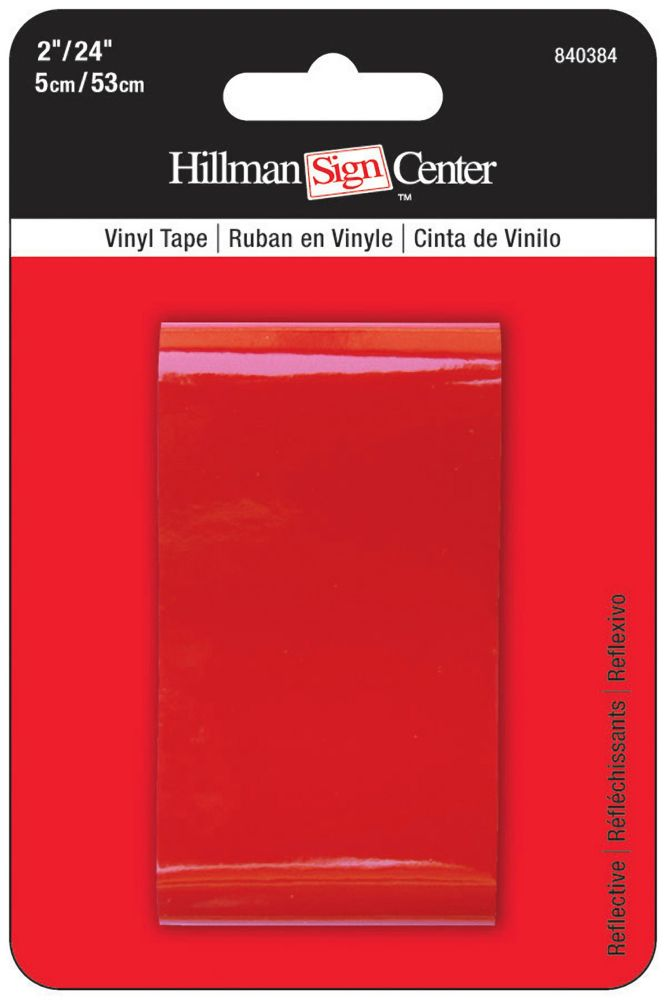 DOT-C2 Reflective Magnetic Strip 2 Wide 20ft Red//White