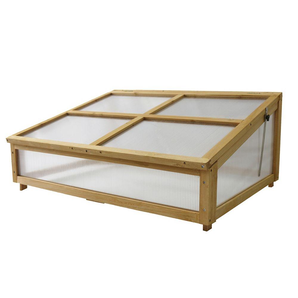 VegTrug Cadre froid pour petit lit de jardin classique surélevé