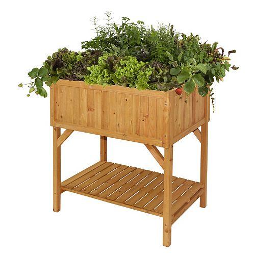 Jardinière de jardin surélevée