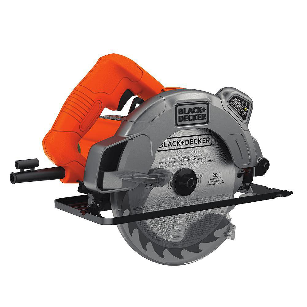 BLACK+DECKER 13 amp 7 1/4-inch Circular Saw with Laser