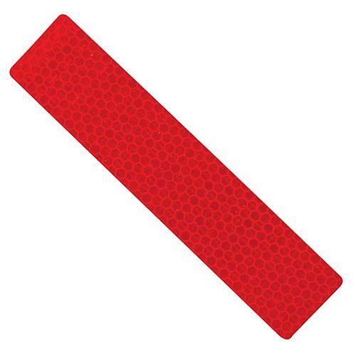 Ruban de sécurité réfléchissant rouge de 6 x 1,3 pouces - 1pc