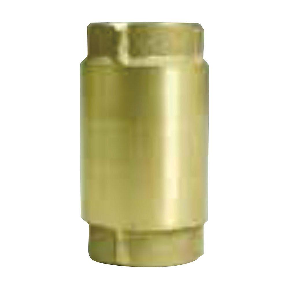 Everbilt Clapet anti-retour bronze de 1-1 / 4 po