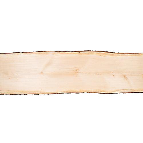 Dalle de pin de 4 pi (19 po à 24 po de largeur)