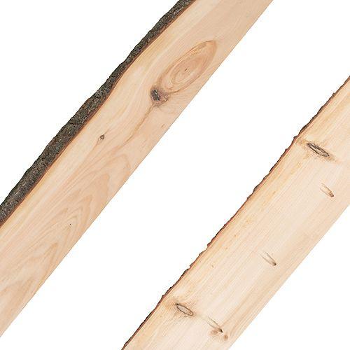 Live Edge Dalle de raccordement Timber-Link de 6 pi (pièce de bordure)