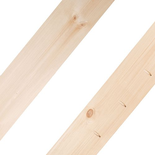 Live Edge Dalles d'assemblage Timber-Link, pièce centrale, 8 pieds