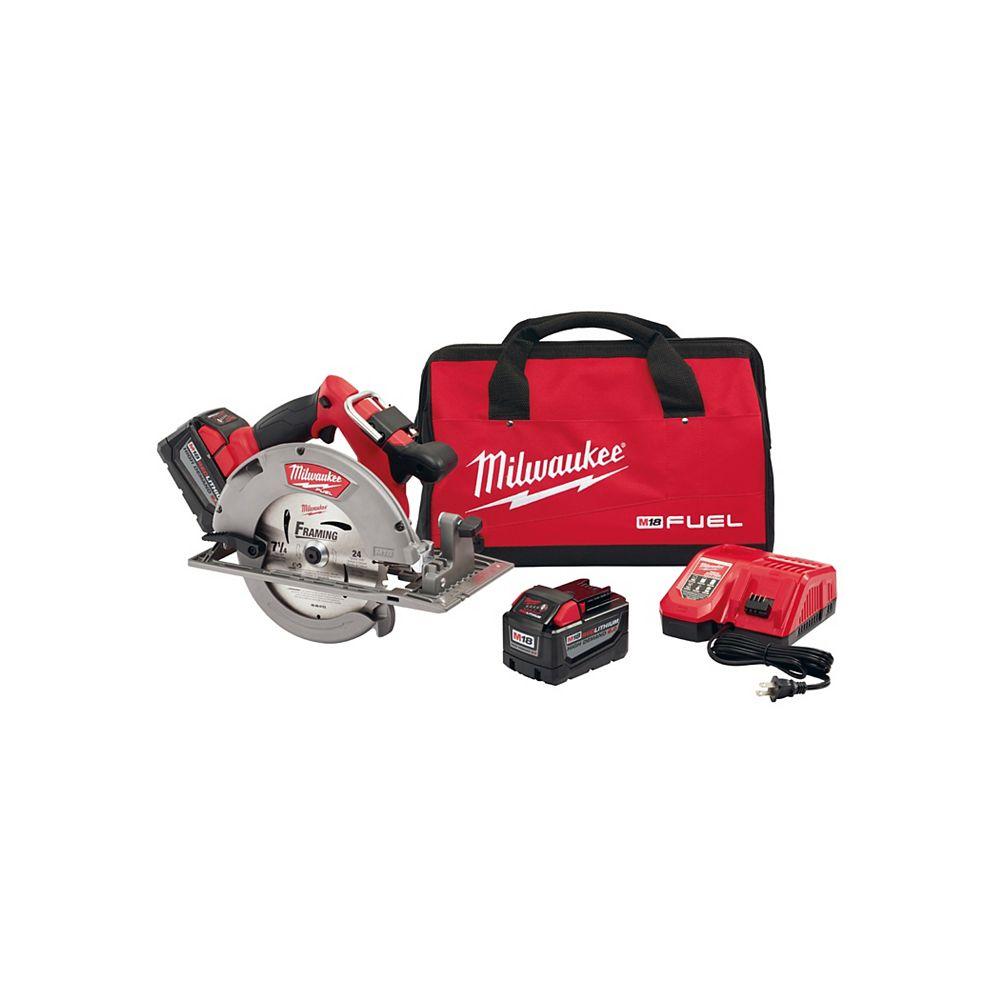 Milwaukee Tool M18 Fuel 7-1/4 Inch Circular Saw HD Kit
