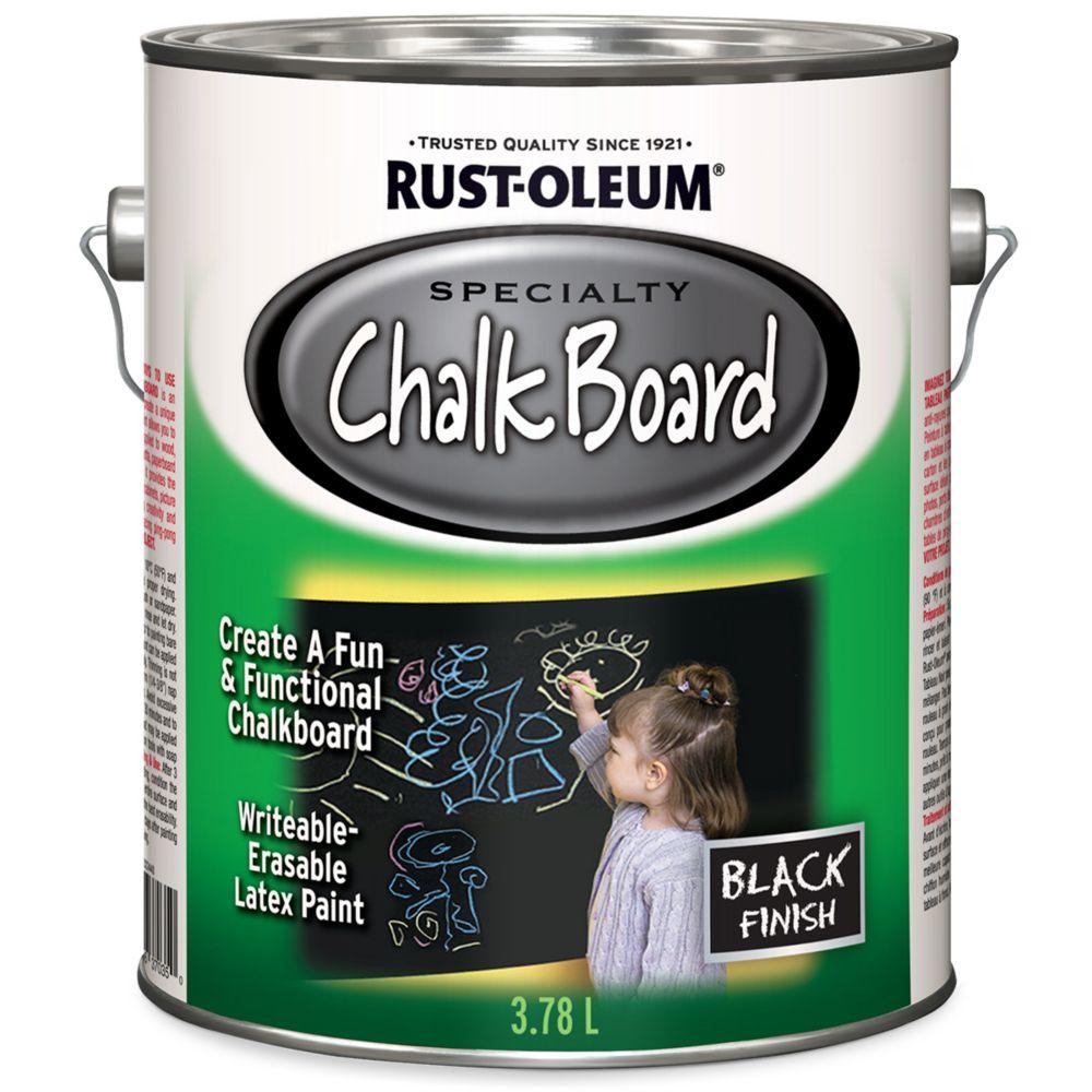 Chalk Board Paint In Black 3 78 L
