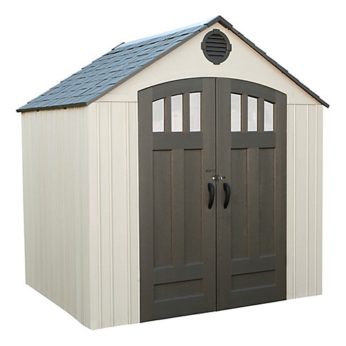 8 ft. x 6 ft. Storage Shed