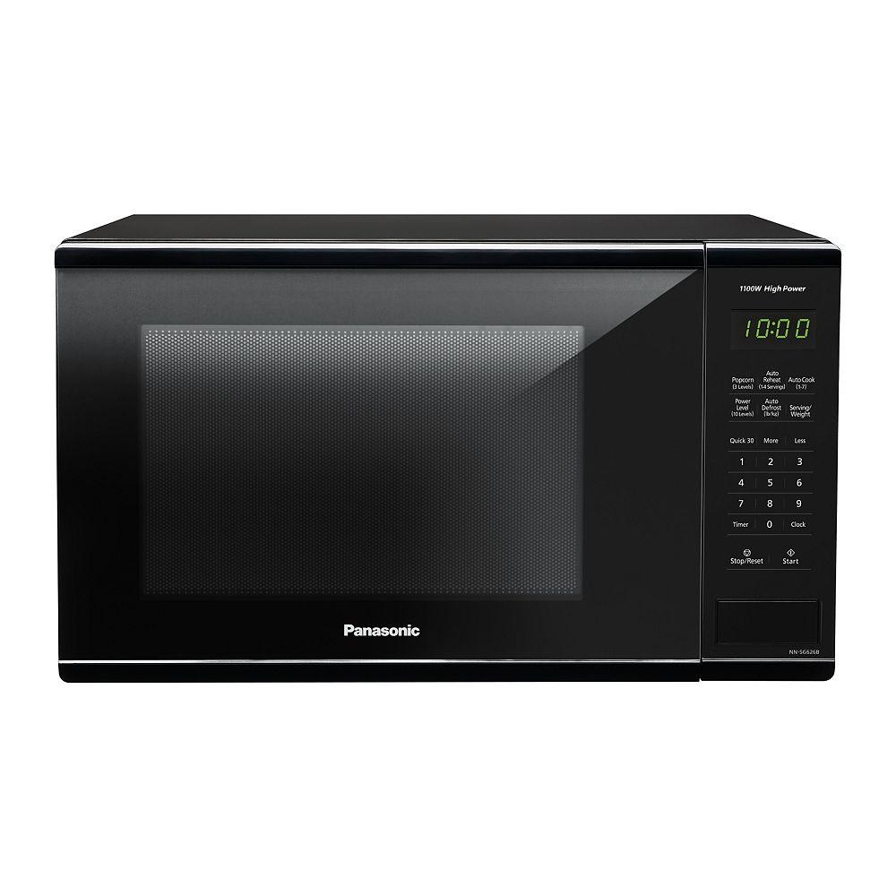 Panasonic 1.3 cu. ft. Countertop Microwave Oven in Black