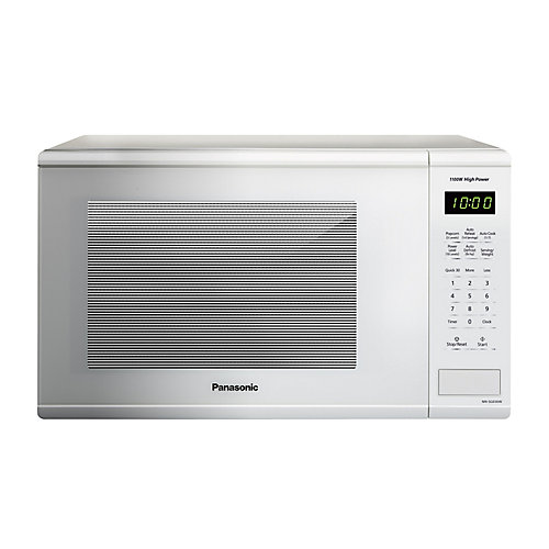 Four à micro-ondes de comptoir, 1,3 pi3, blanc