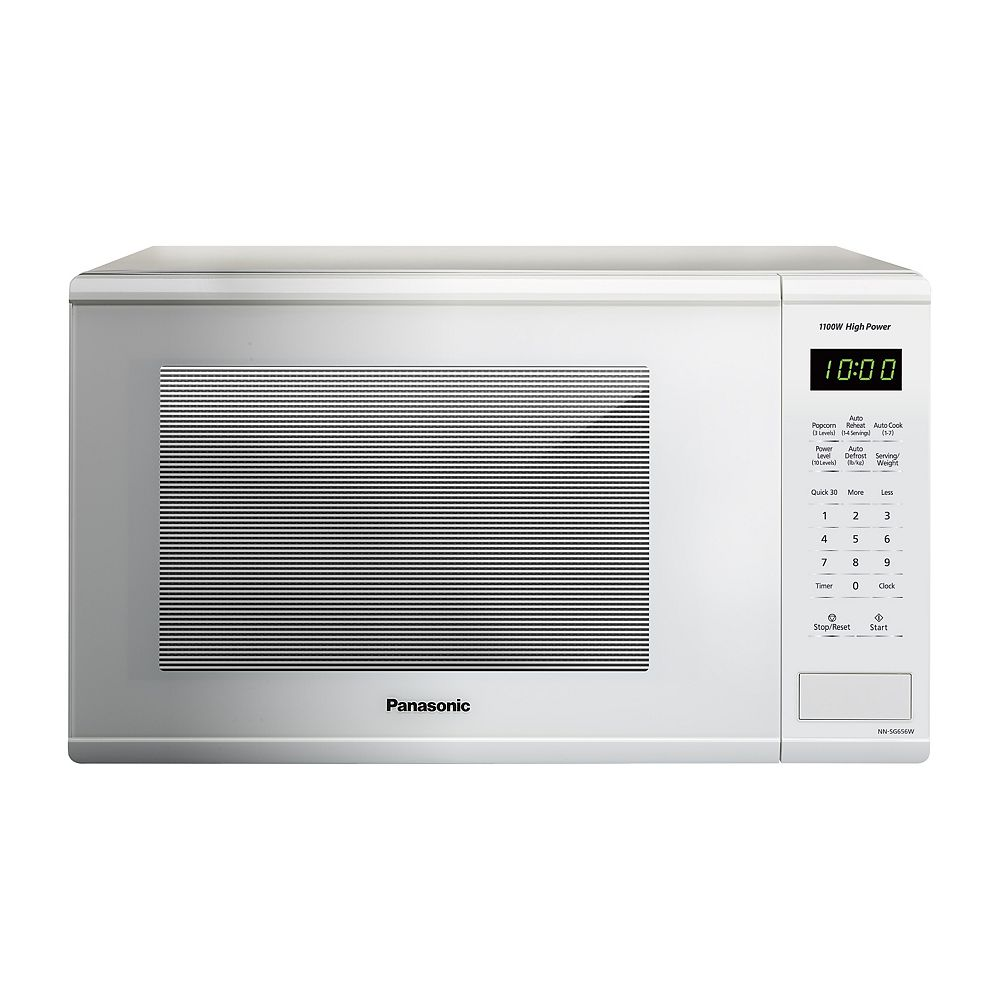 Panasonic 1.3 cu. ft. Countertop Microwave Oven in White