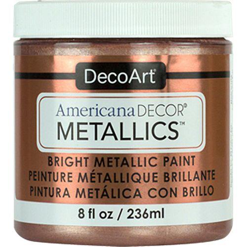 DecoArt Metallic Paint 8oz -Rose Gold
