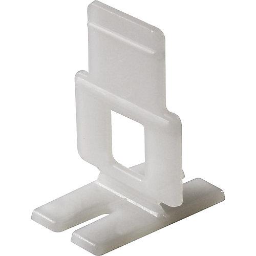 Attaches plates Lash pour niveler, aligner et espacer les carreaux, paquet de 96