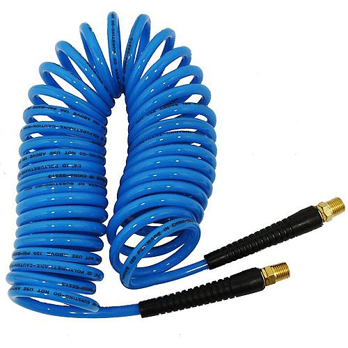 1/4-inch x 25 ft. Polyurethane Recoil Hose