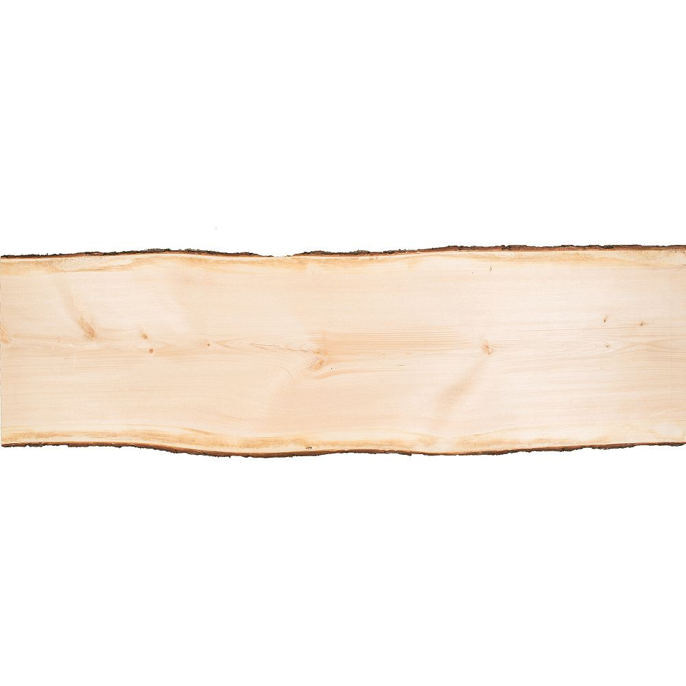 Live Edge Pine Slab 6 ft ( 19-inch to 24-inch wide )