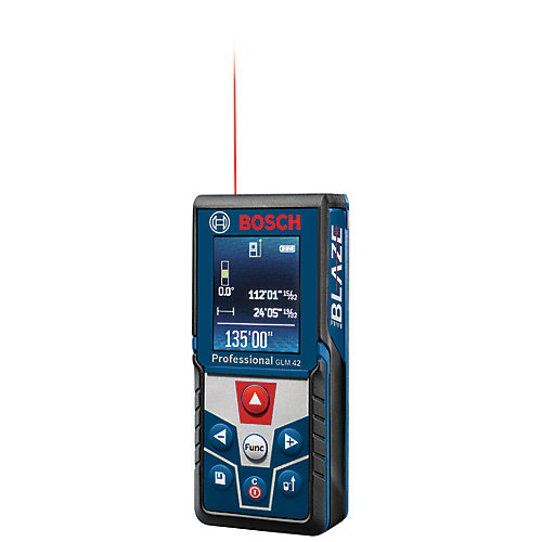 BLAZE 135 Ft. Laser Measure with Colour Display