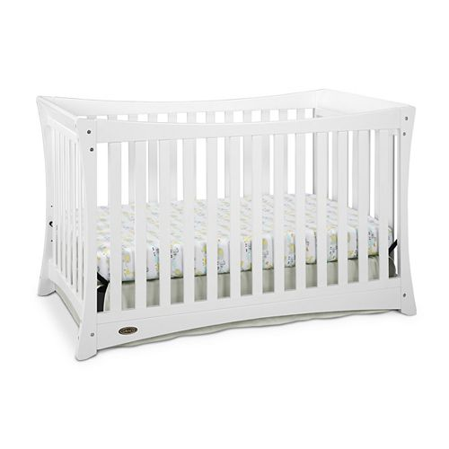 Tatum Convert Crib-White
