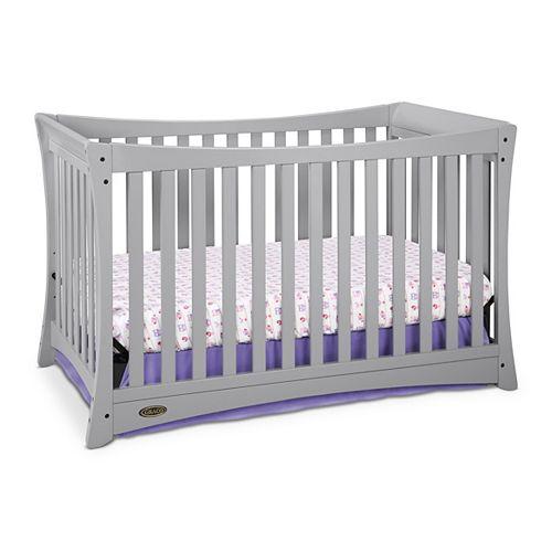 Tatum Convert Crib-Pebble Grey