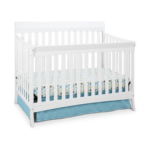 Avalon Convert Crib-White